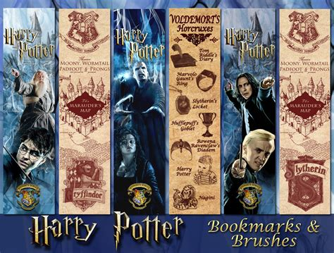 printable eragon bookmark harry potter bookmarks and brushes by aurorabor on