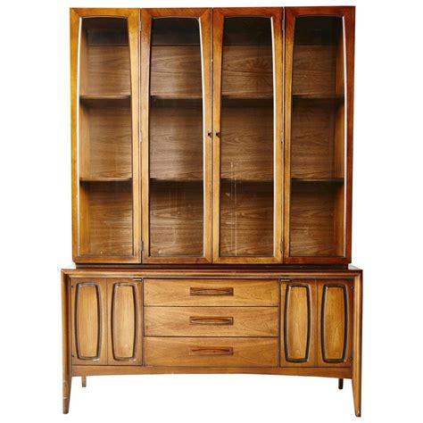 China Cabinet On Sale on sale american modern china display cabinet at 1stdibs