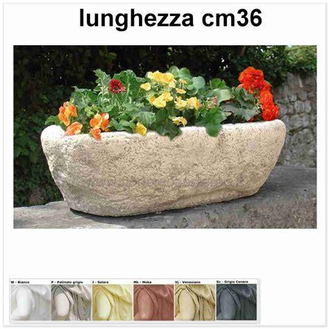 vasi in pietra per giardino vasi da giardino menfi 597vr753 bocciardato fioriere da