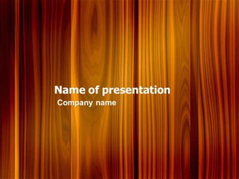 Wood Presentation Template For Powerpoint And Keynote Ppt Star Wood Powerpoint Template