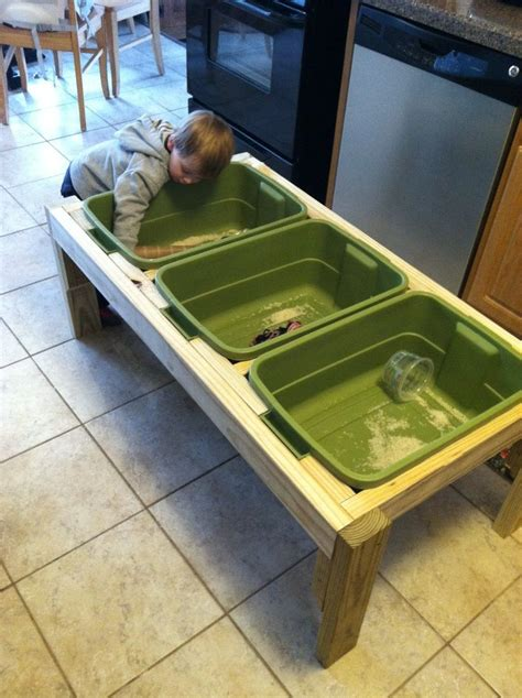 Diy Sensory Table by Pin By Theresa Mcfadden On Cool Ideas