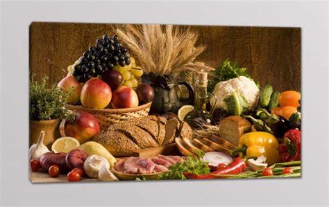 quadri moderni cucina cibo  arredi murali