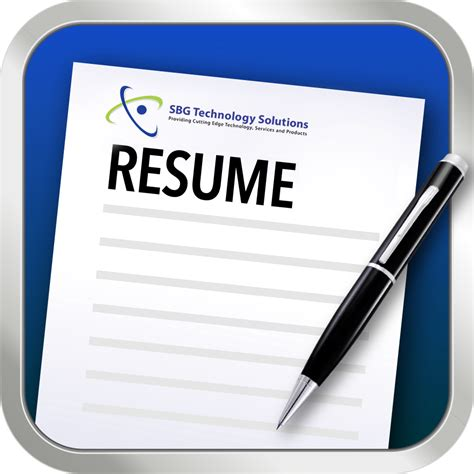 send your resume sbg technology solutions