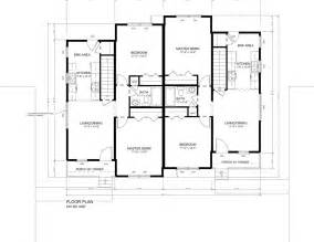 Duplex Floor Plans by The Hatfield Duplex Huntington Homes