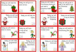 Ideas for filling your home made advent calendars