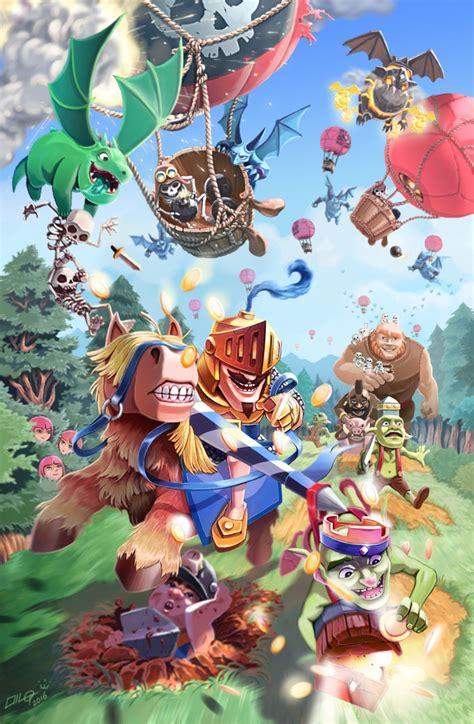 imagenes cool de clash royale los mejores fan art de clash royale