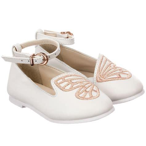 webster mini white bibi leather shoes