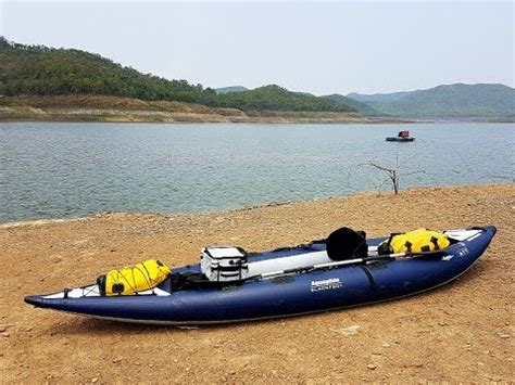 pike fishing inflatable boat nrs pike inflatable fishing kayak doovi