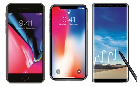 The Iphone X 5 6 7 8 Samsung A5 A7 A8 A9 Note Dll iphone x vs iphone 8 vs samsung galaxy note 8 price in