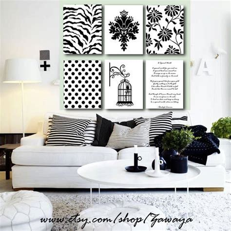 all home decor all black and white home decor search black and