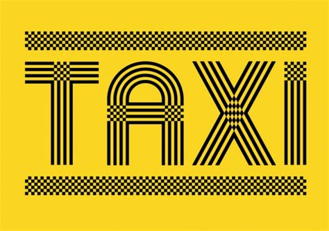 design elements type 68 best taxi images on pinterest new york city yellow