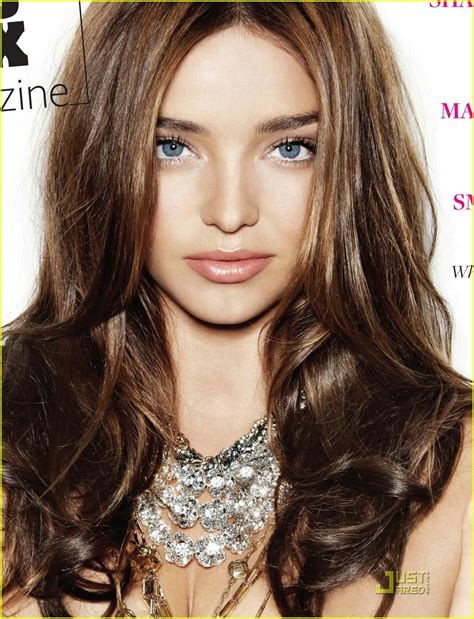 miranda kerr hair color highlights full sized photo of miranda kerr page six magazine cover