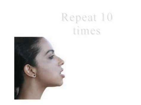 facial exercises to lift sagging jowls corner lip lift doovi