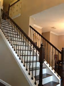 metal banister spindles 15 best ideas about wrought iron stairs on