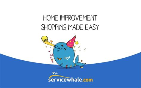 servicewhale home improvement shopping made easy