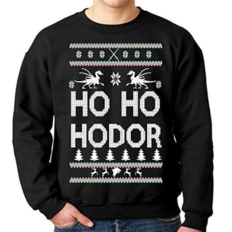 Sweater Hodor Abu Zalfa Clothing fresh tees ho ho hodor sweatshirt medium