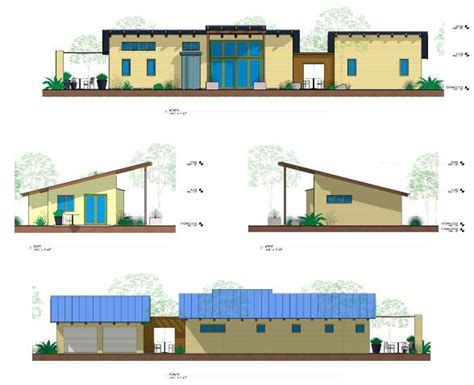 longhouse plans ojai california new contemporary skinny green home