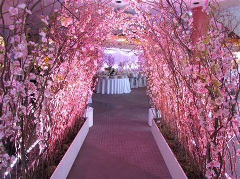 Cherry Blossom #Wedding Decor from Greenscape Design