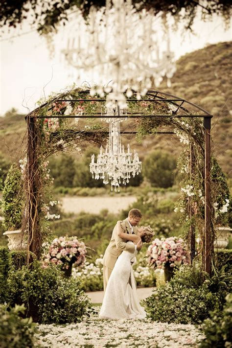 chandelier outdoor chandeliers and outdoor weddings the magazine
