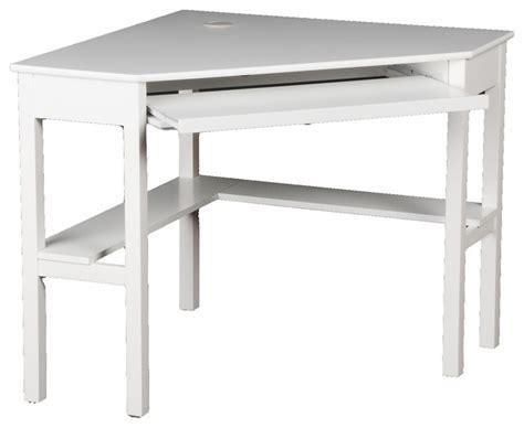 Contemporary Corner Computer Desk Corner Computer Desk White Contemporary Desks And Hutches By Shop Chimney