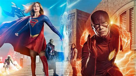 wallpaper dc universe supergirl flash arrow legends