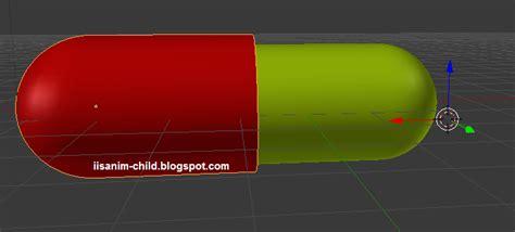 Modul Lu Non Flash Bisa Jd Flash cara membuat capsule di blender 2 64 iisanim child