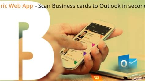 How To Scan Business Cards Into Outlook 2016