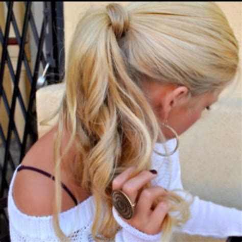 blonde ponytail cut off 27 best images about the ponytail on pinterest