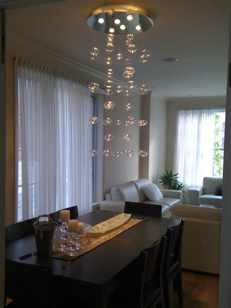 Dining Room Lights Contemporary Chandelier Handblown Glass
