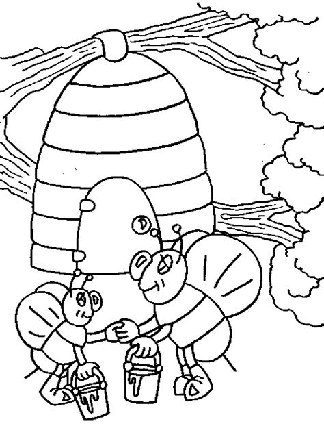 spring theme coloring pages