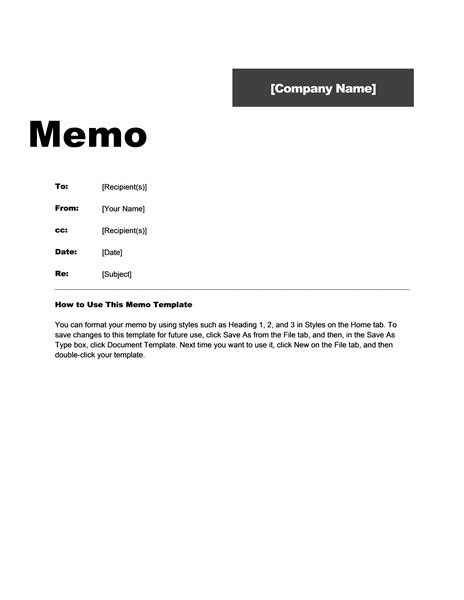 Professional Design Memo Template pin office memo template on resumewordtemplate org