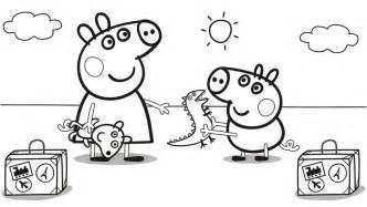 dibujos peppa pig colorear sus amigos archivos imagenes peppa pig