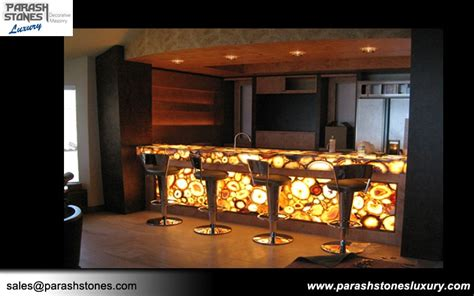 Kitchen Countertops And Backsplash semi precious stone slab furniture wholesale price