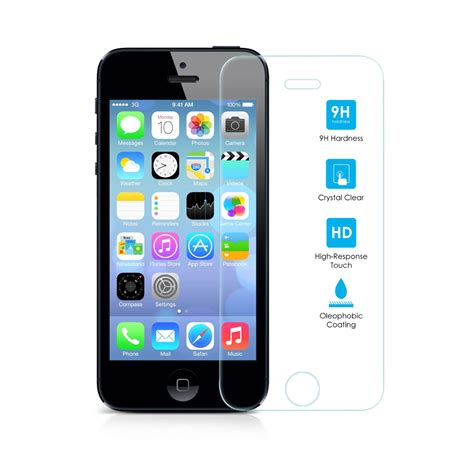iphone  tempered glass screen protector gsm accessories