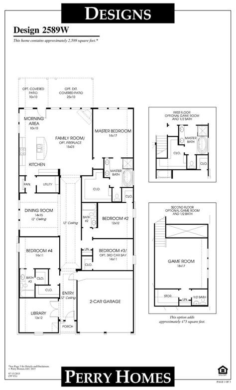 perry homes floor plans houston 8 best cross creek ranch model home design 2 935 sq ft