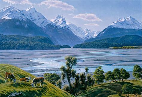 dart river canvas print  peter morath  zealand fine