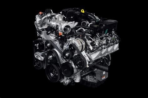 how cars engines work 2012 ford f350 engine control ford unveils new green power stroke v8 turbodiesel for big pickups only