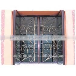 decorative wrought iron window grills