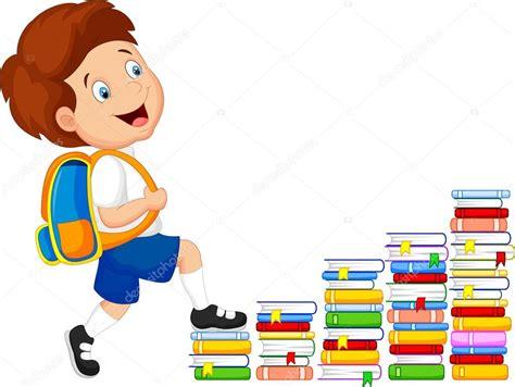 subir imagenes jpg gratis dibujos animados de ni 241 os subiendo escaleras vector de