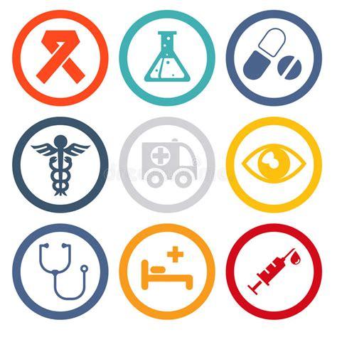 iconos de pharma y salud vector de stock 10920725 salud e iconos planos m 233 dicos ilustraci 243 n del vector