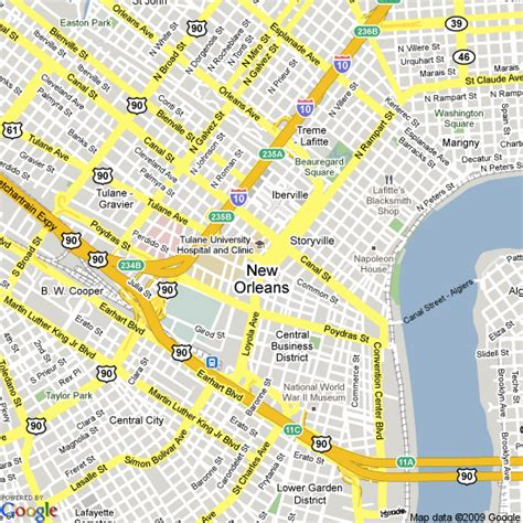 usa map states new orleans map of new orleans hotels swimnova