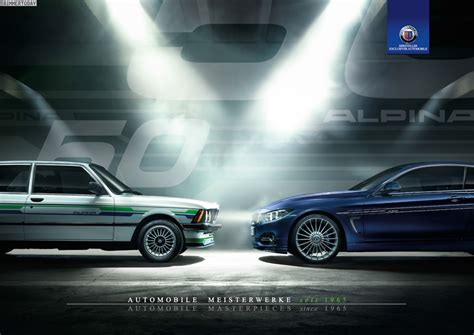Kalender Auto Alpina Calendar 2015 50 Years Of Perfection In 12 Designs