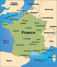 Map Of France Regions by France Map Regions Newhairstylesformen2014 Com