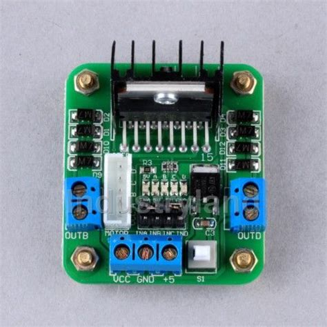 integrated circuit h bridge arduino l298 motor driver integrated makezilla