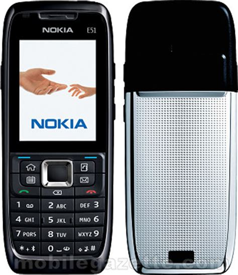 nokia e51 without nokia s cameraless e51 mobile gazette mobile phone news
