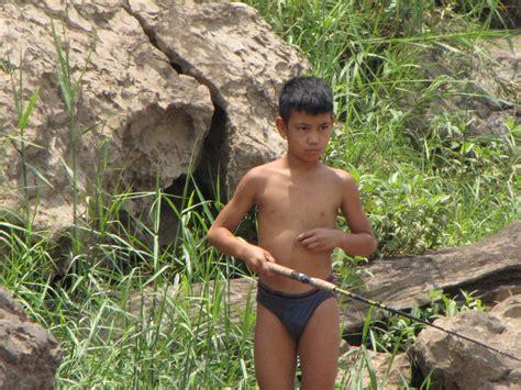 azov boys nudity luang prabang speedboat up mekong river to pak ou cave