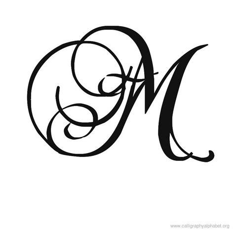 M Drawing Design by Fancy Cursive Capital M Www Pixshark Images