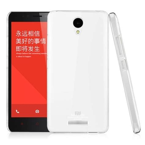 Xiaomi Redmi Note Imak 2 Ultra Thin imak 2 ultra thin for xiaomi redmi note 2 transparent jakartanotebook