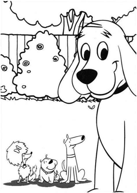 clifford coloring pages halloween clifford the big red dog head coloring pages sketch
