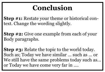 How To Write A Conclusion On An Essay by How To Write A Conclusion Academichelp Net